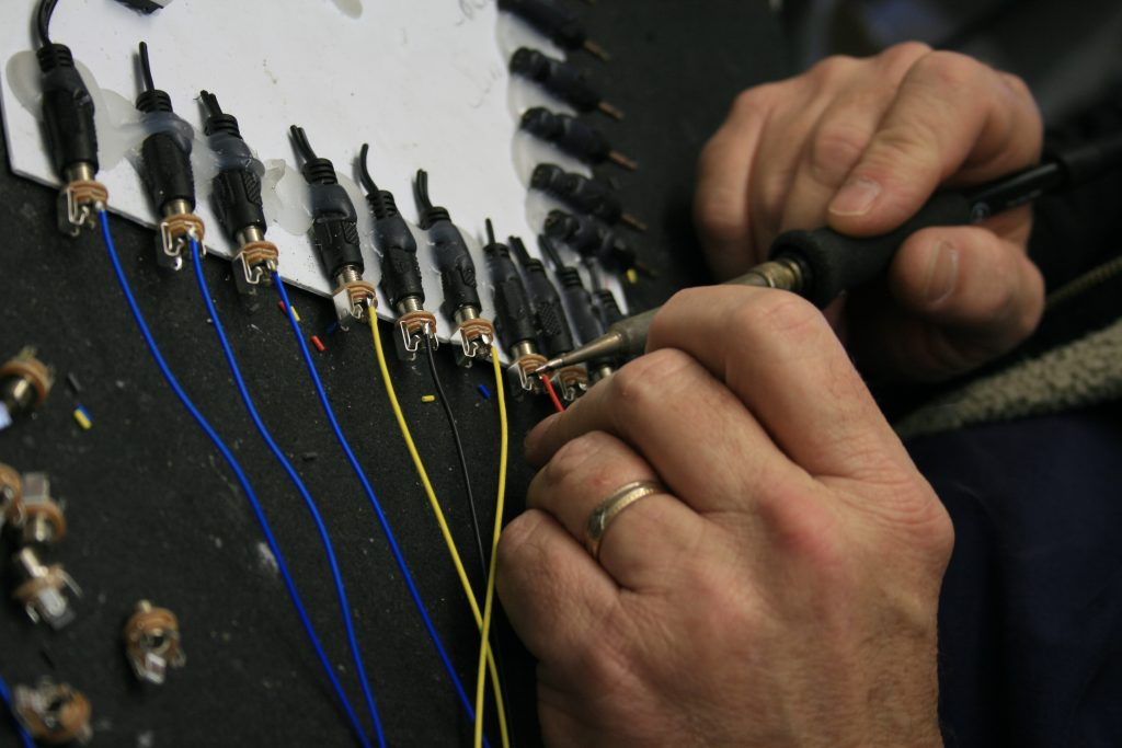 Wiring and soldering skills